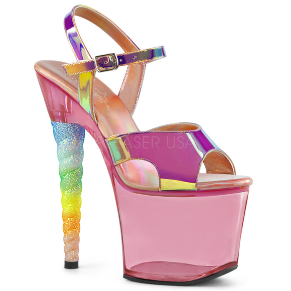 3f8909061d11 Shoes | Unicorn Ombre Glitter High Heel Platform | Poshmark